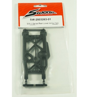 SWORKz Rear Lower Arms Soft (1pc)