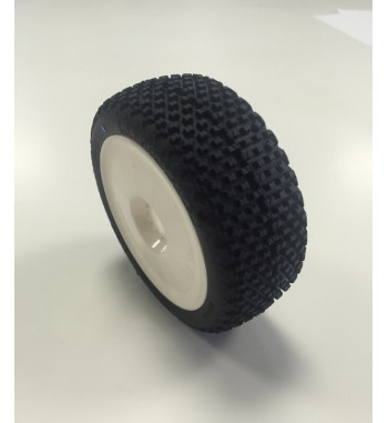 MEGABLOCK Racing Tire Pre-Mounted (2)