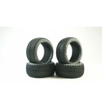 MEGABLOCK Racing Tire & Insert (4)