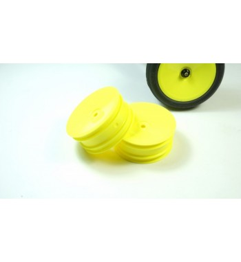TPRO 1/10 2WD Off Road Front Dish Wheel yellow 12mm(4)