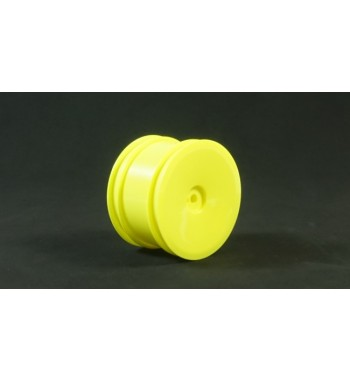 TPRO 1/10 2WD/4WD Off Road Rear Dish Wheel yellow 12mm(4)