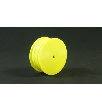 TPRO 1/10 4WD Off Road Front Dish Wheel yellow 12mm(4)