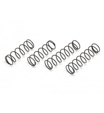 SWORKz S350 series Long Pitch Shock Spring Set (1.5mm x P14)(BK/SB)