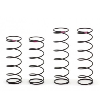 SWORKz S350 New BBS System Shock Spring Set (Soft)(Pink) EVOII