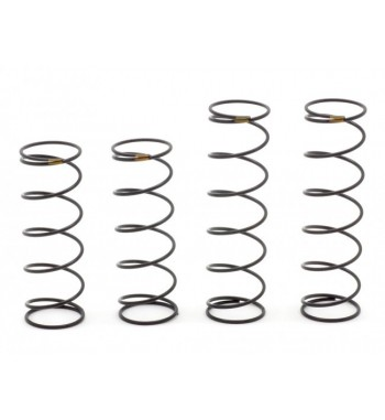 SWORKz S350/S350T New BBS System Shock Spring Set (Medium)(Yellow)