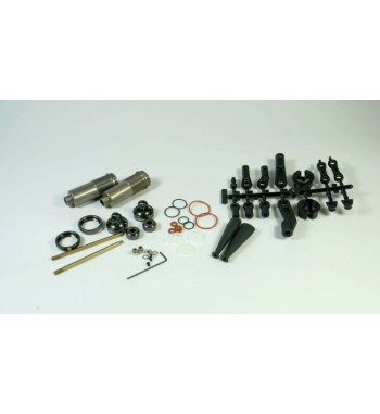 SWORKz L-BBS Rear Shock Set with Emulsion Shock Cap (2)