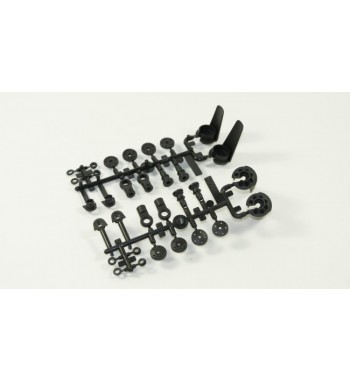 SWORKz Shock Spring Holder with Ball End Plastic Parts