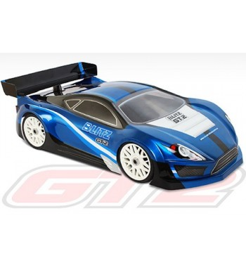 BLITZ 1/8 GT2 Body with Wing (1,0mm)