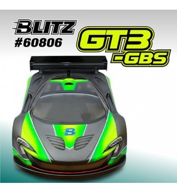 BLITZ 1/8 GT3 GBS Body with Wing (1,0mm)