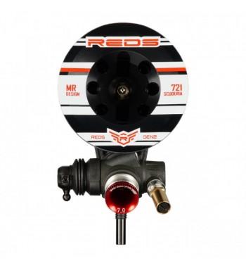 REDS 721S Scuderia GEN2 3,5ccm Off Road Engine BLACK Edition