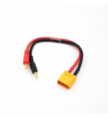 CHARGE CABLE LEAD W/ XT90 PLUG (20cm)