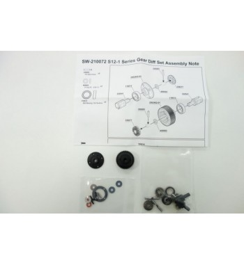 SWORKz Series Gear Diff Set