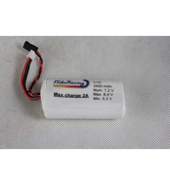 Li-io batteri 3400 mAh