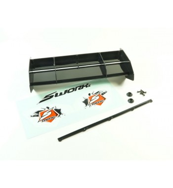 SWORKz 1/8 Off Road Formula 2.0 Race Wing (BK)