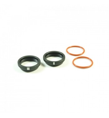 SWORKz BBS System Shock Spring Adjust Nut (BK)(2PC)
