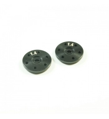 SWORKz BBS System Shock Piston 1.4mmX6 Holes (BK)(2PC)