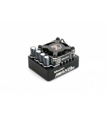 MACLAN MMAX 8R Pro 1/8 Competition sensored 200A ESC with Hurrican Fan and Carbon Guard