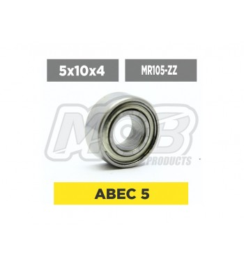 Clutch Ball bearing 5x10x4 ZZ Premium 10 STK