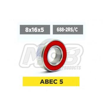 Ball bearing 8x16x5 2RS Ceramic