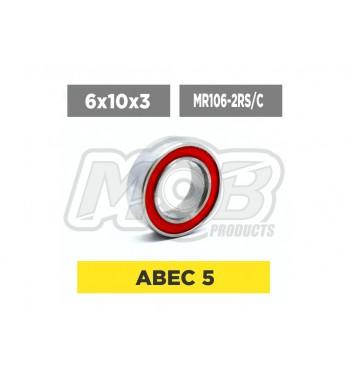 Ball bearing 6x10x3 2RS Ceramic