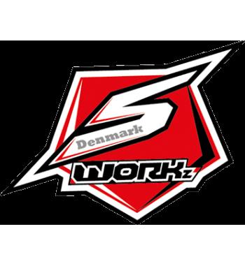 SWORKz 1/8 Off Road Formula 2.0 Race Wing (BK)