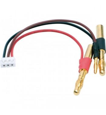 NOSRAM LiPo Hardcase balancing adapter- 4/2mm female plug to EHR plug