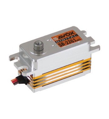 SAVÖX 2261MG Low Profile Digital Brushless Servo Low Profile 6,0V 10kg/0,076sek