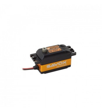 SAVÖX 2263MG Low Profile Digital Brushless Servo Low Profile 6,0V 10kg/0,076sek