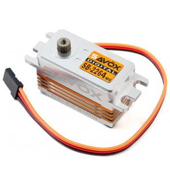 SAVÖX SB2264MG Low Profile Digital Brushless Servo Alugehäuse 7,4V 15kg/0,085sec