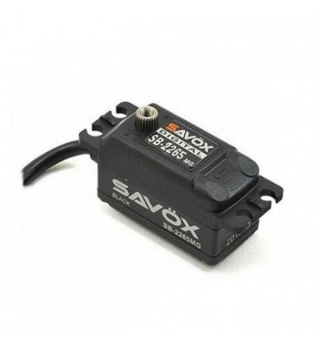 SAVÖX 2265MG High Voltage Low Profile Digital Brushless Servo Low Profile 7,4V 10kg/0,08sek