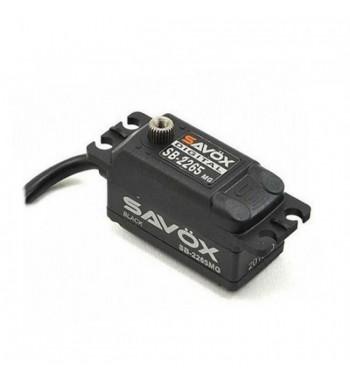 SAVÖX 2265MG High Voltage Low Profile Digital Brushless Servo Low Profile 7,4V 10kg/0,08sek