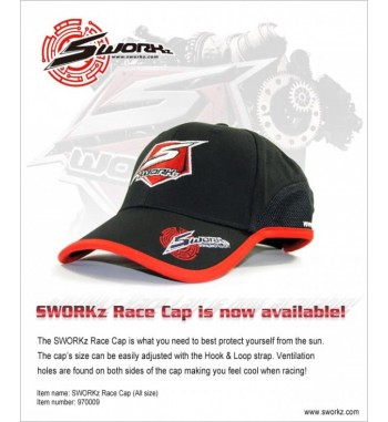 SWORKz Race Kappe (One Size)
