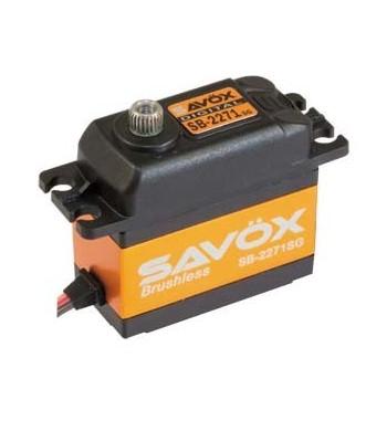 SAVÖX 2271SG Digital Brushless Servo 7,4V 20kg/0,065sec