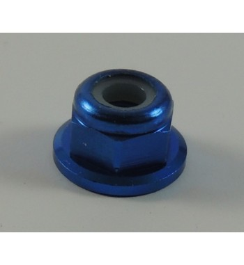 SWORKz Flange M3 Lock Nut Blue (10)